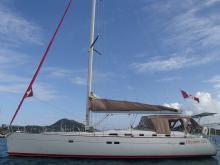 Bénéteau Oceanis 523 : Au mouillage en Martinique